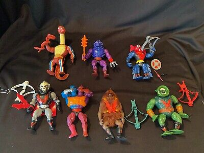 $152.50 • Buy *Vtg Lot MOTU Masters Of The Universe Action Figures & Weapons Grizzlor Spikor
