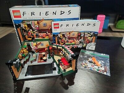 $45 • Buy LEGO Central Perk Cafe ~ LEGO Ideas (21319)~ Friends TV Show ~ Used