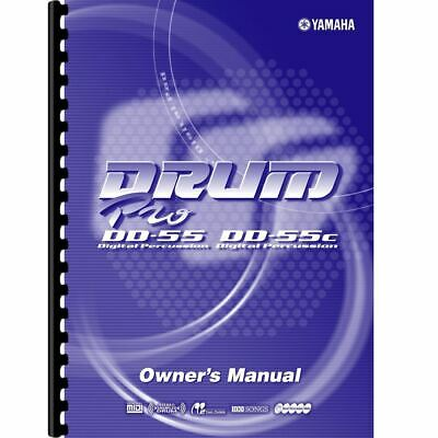 £9.49 • Buy Yamaha DD-55 & DD-55C Electronic Drum Set Owner's/ User Manual (Pages: 47)