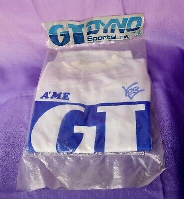 $ CDN874.86 • Buy 1986 GT BMX Jersey SEALED In Bag Adult Med Old School Haro Hutch CW Freestyle