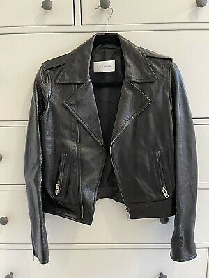 AU400 • Buy Scanlan And Theodore Leather Jacket - Size 8