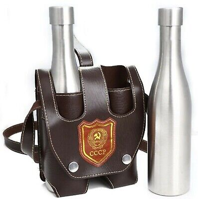 £27.12 • Buy 1 Set Hip Flask Wine Bottle With Holster Stainless Steel For Outdoor Travel Gift
