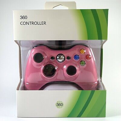 AU20.90 • Buy Xbox 360 Wired USB Controller PINK For Microsoft Xbox 360 & Windows PC *NEW*