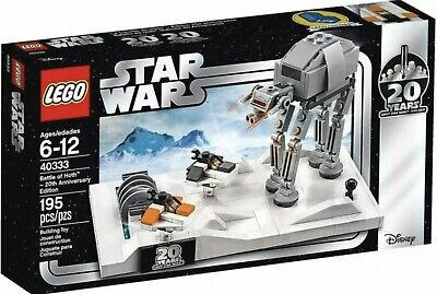 AU94.99 • Buy  Lego Star Wars Exclusive 40333 Battle Of Hoth 20th Anniversary Ed. New/Sealed