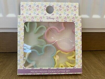 £6.99 • Buy PRIMARK Disney Mickey And Minnie Mouse Cookie Cutter Baking Cake Making Craft X4