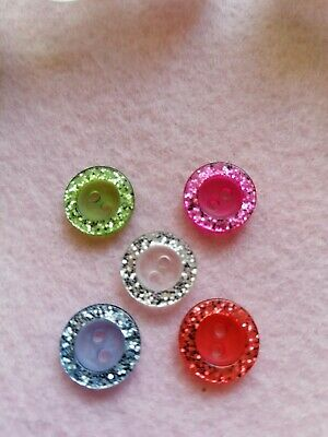 $1.74 • Buy 5 Pack Small 13mm Buttons