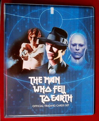 DAVID BOWIE, The Man Who Fell To Earth - Ultra Rare Official Trading Card Binder • 59.99£