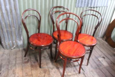 AU195 • Buy A Set Of Four Antique Bentwood Chairs