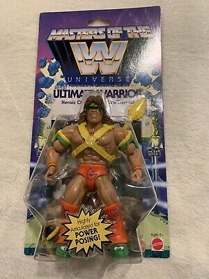 $36 • Buy Masters Of The WWE Universe Ultimate Warrior Action Figure. MOC. MOTU. AFA IT!