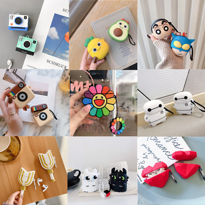 AU5.97 • Buy Cartoon Cute Silicone Charging Case Skin Protective Cover For AirPods 1/2 Pro