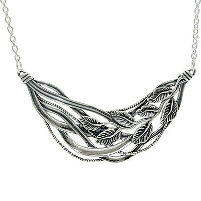 $ CDN43.85 • Buy QVC Or Paz Sterling Silver Polished Multi-Leaf Necklace $118