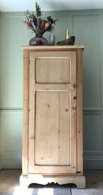 AU1441.71 • Buy Vintage Antique Shaker Style Pine Hall Storage Cupboard Cabinet