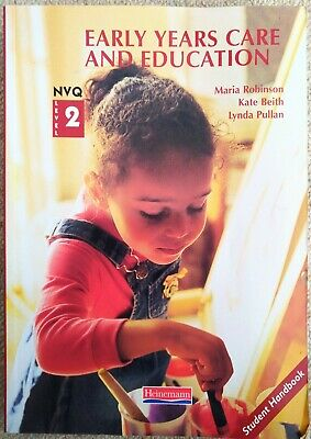 £4 • Buy S/NVQ Level 2 Early Years Candidate Handbook By Lynda Pullan, Kate Beith, Maria…