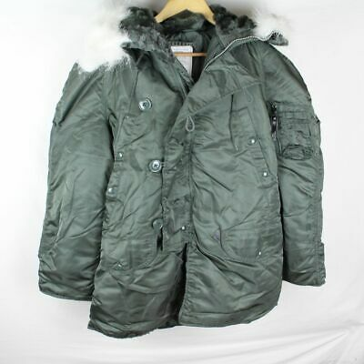 $130 • Buy Military Army Jacket Parka Extreme Cold Weather Type N-3B Mens Small
