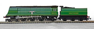Hornby West Country  Bideford  21C119 R265 4-6-2 In Southern Malachite Boxed • 69.95£