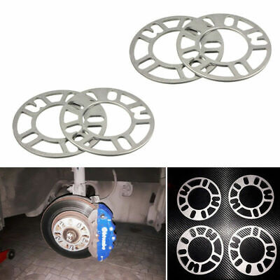 $19 • Buy 4PCS 5mm Alloy Aluminum Wheel Spacers Adaptor Shims Plate 4/5 Stud For Car Parts