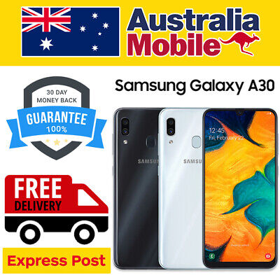 AU175 • Buy Samsung Galaxy A30 SM-A305 16MP 6.4  Black&White&Red Unlocked Android Smartphone