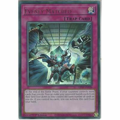 £10.95 • Buy GFTP-EN126 Evenly Matched | 1st Edition Ultra Rare | YuGiOh Trading Card TCG