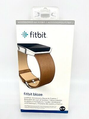 $ CDN13.77 • Buy Fitbit Blaze Leather Accessory Band & Stainless Steel Frame S/p Camel