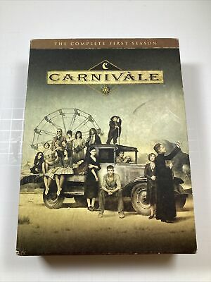 Carnivale - The Complete First Season (DVD, 2004, 6-Disc Set) • 9.19£