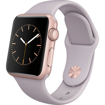 $ CDN137.84 • Buy Apple Watch Sport Series 7000 38mm Aluminum Case Lavender Sport Band (Rose Gold)