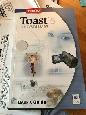 £13.49 • Buy Toast 5 Titanium By Roxio With DVDs, Guide And Original Box