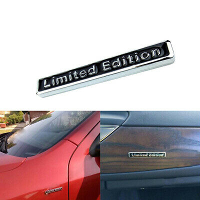 $1.69 • Buy 1x Universal 3D Black Limited Edition Emblem Badge Car Decal Sticker Accessories