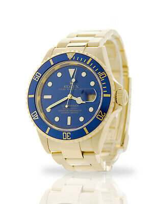 $ CDN43259.70 • Buy 2006 Rolex Submariner Date 16618 With Papers 18k Yellow Gold 12-month Warranty