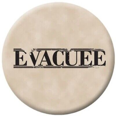 £4.50 • Buy WW2 ARMY EVACUEE PIN BADGE 58mm MILITARY WW1 VE DAY BOYS PARTY BAG FILLERS