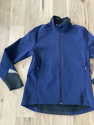$37.50 • Buy SUGOI Mens Large Navy Blue Jacket Cycling Bike Running Excellent Cond  Free Ship