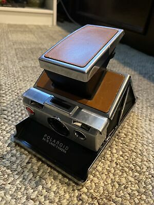 AU238.57 • Buy Vintage USA Made Polaroid SX 70 Land Camera With Case TESTED WORKING!