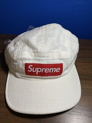 $ CDN90.99 • Buy Supreme Linen Camp Cap White
