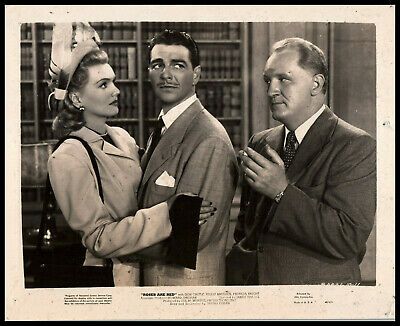 $ CDN18.13 • Buy Don Castle + Peggy Knudsen + Joe Sawyer In Roses Are Red (1947) ORIG PHOTO M 5