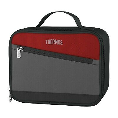 AU23.95 • Buy 100% Genuine! THERMOS Essentials Insulated Soft Lunch Kit Cooler Box Cranberry!