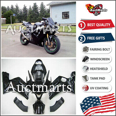 $579 • Buy For Kawasaki Ninja ZX6R 636 2003 2004 03 04 Injection Mold Fairing Kit 3a15 BE