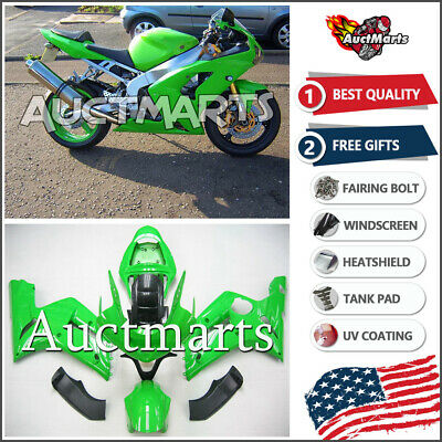 $579 • Buy For Kawasaki Ninja ZX6R 636 2003 2004 03 04 Injection Mold Fairing Kit 3a2 BE