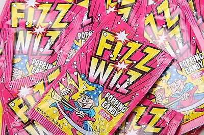 £4.32 • Buy Fizz Wiz Popping Candy - Cherry - Retro Sweets Space Dust - Select 10,20,50