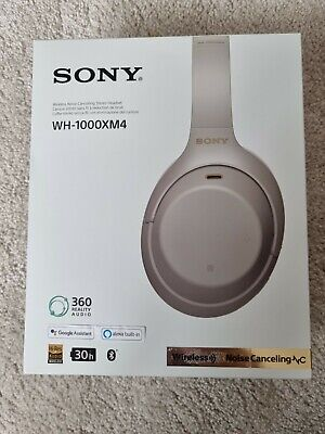 $ CDN1.73 • Buy Sony WH-1000XM4 Wireless Noise-Cancelling Headphones - Silver