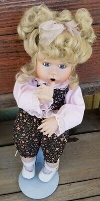 $ CDN15.67 • Buy Vintage Jan Goodyear 14  Porcelain Doll On Stand, GUC