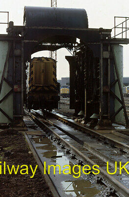 £2 • Buy Railway Photo - 08334 Stands Behind The Locomotive Washer In Toton Depot  C1979