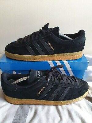 $ CDN1.71 • Buy Adidas Topanga UK10 Triple Black Size? Rare Deadstock Spzl London Og Gt Zx