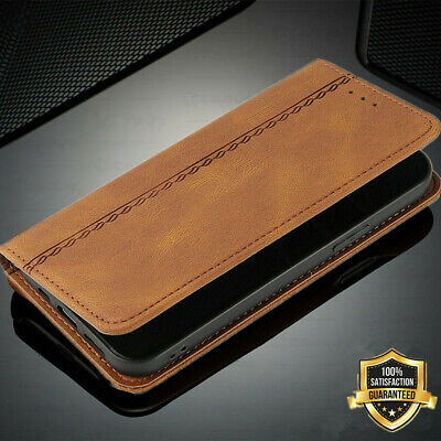 $ CDN7.51 • Buy For Samsung Galaxy S20 FE S10 + S9 Plus S8 Leather Wallet Thin Slim Case Cover
