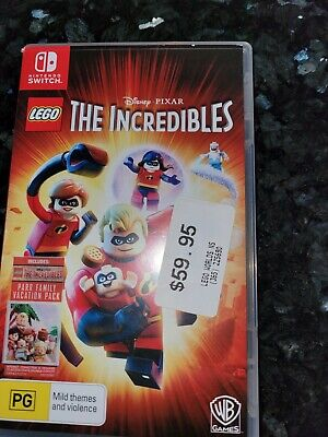 AU40 • Buy Nintendo Switch The Incredibles Game