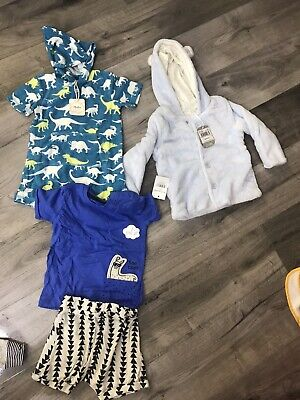 £12.99 • Buy Boys Bundle Of New Clothes 9-12 Months 🌈 (2 Of Each Available For Twins*)
