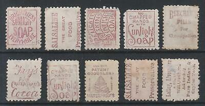 AU1.77 • Buy New Zealand QV 1893 Stamps With Advertisements Selection