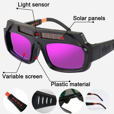 $ CDN13.36 • Buy Solar Auto Darkening Welding Helmet Eye Protection Welder Glasses Goggles B9K3