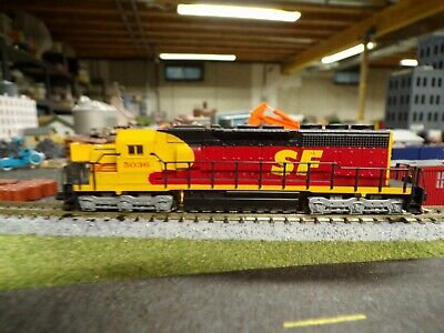 AU77.55 • Buy N Scale Kato EMD SD40 Custom Painted Kodachrome Santa Fe Loco + Caboose