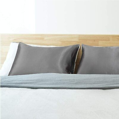 AU10.95 • Buy Luxury Satin Pillowcase For Hair And Skin, 2 Pack Cooling Satin Pillow Covers