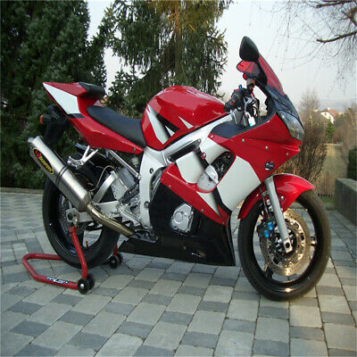 $499.99 • Buy New Black Red White Fairing Fit For Yamaha 1998-2002 YZF R6 Injection Mold O022