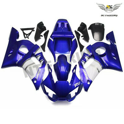 $539.99 • Buy New Fairing Kit Blue White Injection Kit Fit For YAMAHA 1998-2002 YZF R6 O058